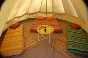 4m Bell tent 1