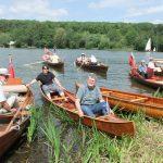 DSCF7496 TTBS members enjoying Beale Park Boat Show