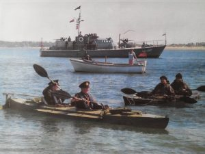 WW2 canoe