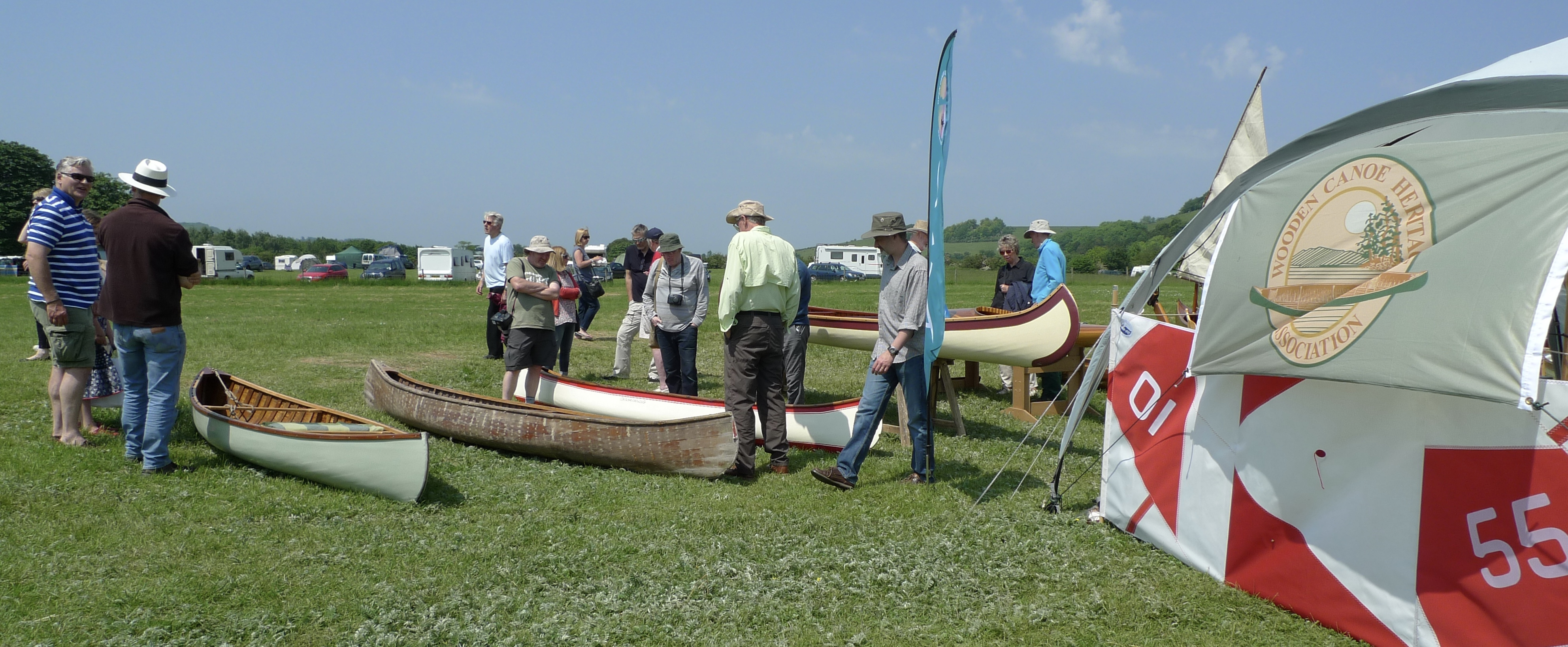 Wooden Canoe Association Are Back Beale Park Boat Outdoor Show